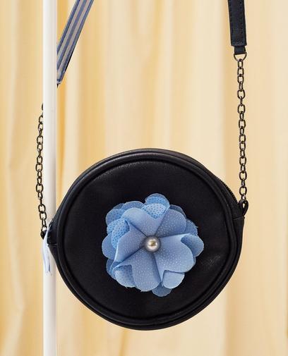 Schultertasche mit Blume